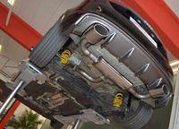 FRIEDRICH MOTORSPORT 63,5mm Duplex Komplettanlage Gruppe A Audi A3 8V Sportback Frontantrieb ab Bj. 05/2016 1.0l TFSI 85kW - Endrohrvariante frei wählbar Bild 3