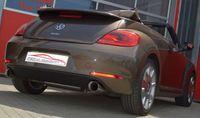 FRIEDRICH MOTORSPORT Duplex Sportauspuff VW Beetle 5C & Cabrio inkl. Dune ab Bj. 10/2014 1.4l TSI 110kW - Endrohrvariante frei wählbar Bild 2