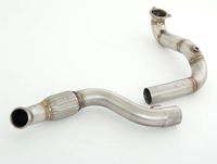 FRIEDRICH MOTORSPORT 76mm Downpipe Mercedes C117 CLA-Klasse Coupe Bj. 01/2013-06/2016  CLA250 Sport (inkl. 4matic) 160kW