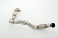FRIEDRICH MOTORSPORT 76mm Downpipe mit Sport-Kat.  Mercedes C/X117 CLA-Klasse Coupe & Shooting Brake Bj. 01/2013-06/2016  CLA250 Sport (inkl. 4matic) 160kW