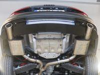 FOX Duplex Sportauspuff Audi A4 Quattro B9 2.0l TFSI 183/185kW - 1x100 Typ 16 rechts/links Bild 3