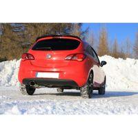 FOX Sportauspuff Opel Corsa E 1.4l Turbo 74kW - 129x106 Typ 44 Bild 7