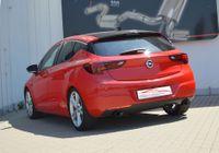 FRIEDRICH MOTORSPORT Duplex Sportauspuff Opel Astra K 5-Türer ab Bj. 07/2015 1.0l Turbo 77kW - Endrohrvariante frei wählbar Bild 3