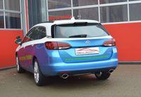 FRIEDRICH MOTORSPORT Duplex Endrohrsystem Opel Astra K Sports Tourer ab Bj. 10/2015  1.6l CDTI 118kW - Endrohrvariante frei wählbar