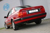 FOX Sportauspuff Audi 100/A6 Quattro Typ C4 - 2x70 Typ 14 2.6l 110kW 2.8l 128kW