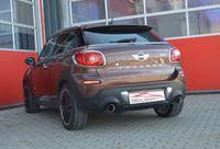 FRIEDRICH MOTORSPORT 70mm Duplex Sportauspuff Mini R61 Paceman Cooper S + ALL4 Bj. 03/2013-11/2016  1.6l Turbo 135/140kW  - Endrohrvariante frei wählbar