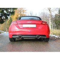 FOX Duplex Sportauspuff Audi TT FV3 Frontantrieb - 1x100 Typ 25 rechts/links Bild 9