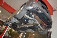 STREETBEAST 76mm Duplex Komplettanlage  MIT KLAPPENSTEUERUNG  Mercedes W176 A-Klasse Frontantrieb ab Bj. 09/2015  A180 90kW / A200 115kW / A250 155kW / A250 Sport 160kW