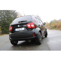 FOX Sportauspuff Komplettanlage Suzuki Ignis 3 - 4x4 1,2l 66kW - 1x90 Typ 16