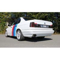 FOX Sportauspuff Komplettanlage BMW E34 530i 3,0l 138/160kW - 2x76 Typ 14