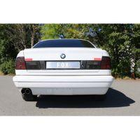 FOX Sportauspuff Komplettanlage BMW E34 530i 3,0l 138/160kW - 2x76 Typ 14 Bild 2