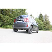 FOX Sportauspuff Suzuki Ignis 3 - Frontantrieb 1,2l 66kW - 1x76 Typ 16