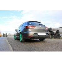 FOX Sportauspuff Seat Leon 5F ST 1,4l 90/92/103/110kW 1,8l 110/132kW - Einzelradaufhängung - 2x90 Typ 25