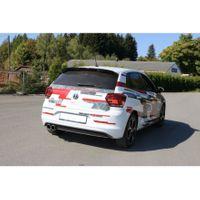 FOX Sportauspuff Komplettanlage VW Polo AW1 GTI 2,0l 147kW - 2x90 Typ 16 Bild 7