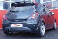 FRIEDRICH MOTORSPORT Duplex Komplettanlage 70mm Opel Corsa E OPC ab Bj. 2015 - 1.6l Turbo 152kW - Endrohrvariante frei wählbar Bild 5