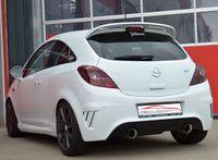 FRIEDRICH MOTORSPORT Duplex Sportauspuff 70mm Opel Corsa E OPC ab Bj. 2015 - 1.6l Turbo 152kW - Endrohrvariante frei wählbar Bild 3