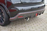 FRIEDRICH MOTORSPORT 70mm Sportauspuff Nissan Juke F15 Frontantrieb ab Bj. 01/2015  Nismo RS 1.6 DIG-T 160kW - Endrohrvariante frei wählbar