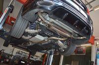 FRIEDRICH MOTORSPORT 76mm Duplex Komplettanlage  Ford Mondeo (BA7) 5. Generation Bj. 08/2014-05/2018 Fließheck & Turnier  2.0l EcoBoost 177kW Bild 2