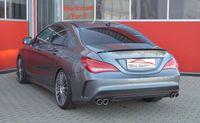 FRIEDRICH MOTORSPORT 76mm Duplex Komplettanlage Mercedes C117 CLA-Klasse Coupe Bj. 01/2013-06/2016  CLA250 Sport (inkl. 4matic) 160kW - Endrohrvariante frei wählbar