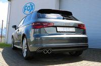 FOX Rennsportanlage Audi A3 8V  - S-Line 1,8l 132kW einseitig - 2x80 Typ 16