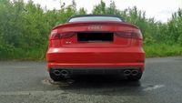 FOX Duplex Komplettanlage Audi S3 8V + Cabrio 2x106x71 Typ 44  Bild 3