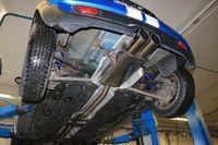 FOX Duplex Sportauspuff Mini R56 Cooper S ab 06 - 2x100mm Typ 16 mittig Bild 8