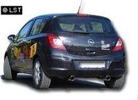 FOX Duplex Rennsportanlage Opel Corsa D 1x90 Typ 13 rechts/links Bild 3