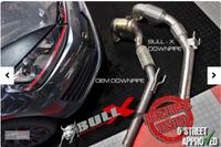 """Bull-X 76mm 3"""" Zoll Downpipe mit 2xHJS Sport-Kat mit EWG Zulassung (Euro 6 Modelle) VW Golf 7 GTI Facelift 180kW Bild 4"""