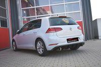 FRIEDRICH MOTORSPORT Duplex Gruppe A Komplettanlage  VW Golf 7 Bj. 03/2017- Frontantrieb  1.6l TDI 85kW  - Endrohrvariante frei wählbar