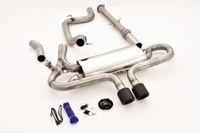 STREETBEAST 76mm Komplettanlage  MIT KLAPPENSTEUERUNG  Ford Focus MK3 (DYB) ST Turnier Bj. 06/2012-2018  2.0l EcoBoost 184kW  - Endrohrvariante frei wählbar