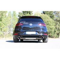 FOX  Duplex Sportauspuff  VW Golf 7 Bj. ab 03/17 GTI Facelift  2.0l 180kW - 1x114 Typ 25 rechts/links Bild 3