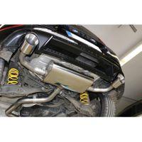 FOX  Duplex Sportauspuff  VW Golf 7 Bj. ab 03/17 GTI Facelift  2.0l 180kW - 1x114 Typ 25 rechts/links Bild 5