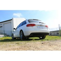 FOX  Duplex Sportauspuff  Audi A4 B8 Limousine/ Avant + S-Line ab Bj. 2007  1.8l TFSI 125/130kW / 2.0l TFSI 132/155kW (Frontantrieb und Quattro)   - 1x100 Typ 16 rechts/links Bild 5