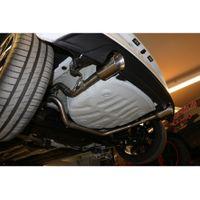 FOX  Duplex Endrohrsystem  VW UP GTI ab Bj. 2011  1.0l 85kW  - 1x90 Typ 25 rechts/links Bild 5