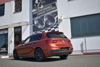 FRIEDRICH MOTORSPORT  90mm Duplex Komplettanlage  BMW 1er F20/F21 ab Bj. 07/2018 3-/5-Türer  M140i/ix 250kW mit Ottopartikelfilter  - Endrohrvariante frei wählbar