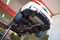 FRIEDRICH MOTORSPORT  90mm Duplex Komplettanlage  BMW 4er F32 ab Bj. 07/2018- Coupe  440i/440ix 240kW mit Ottopartikelfilter  - Endrohrvariante frei wählbar