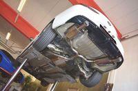 FRIEDRICH MOTORSPORT  76mm Duplex Komplettanlage  Opel Insignia Grand Sport Frontantrieb Bj. 06/2017-07/2018  1.5l Turbo 121kW ohne Ottopartikelfilter/ohne serienmäßigen Ausschnitt im Heckdiffusor  - Endrohrvariante frei wählbar Bild 2