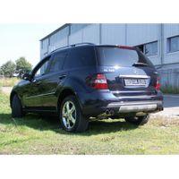 FOX  Duplex Sportauspuff  Mercedes M-Klasse Typ W164 - 2x76 Typ 10 rechts/links  3.5l 200kW / 5.0l 225kW Bild 2