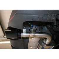 FOX  76mm Duplex Sportauspuff  Hyundai i30N Performance Fastback mit OPF - 1x114 Typ 25 rechts/links schwarz glänzend emailliert  2.0l 202kW Bild 4