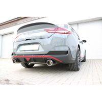 FOX  76mm Duplex Sportauspuff  Hyundai i30N Performance Fastback mit OPF - 1x114 Typ 12 rechts/links  2.0l 202kW
