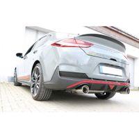 FOX  76mm Duplex Sportauspuff  Hyundai i30N Performance Fastback mit OPF - 1x114 Typ 12 rechts/links  2.0l 202kW Bild 3