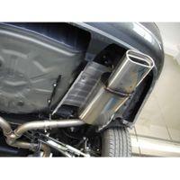 FOX  Duplex Sportauspuff  Toyota Avensis T25 Combi - 160x80 Typ 53 rechts/links  2.2l D-Cat 130kW Bild 5