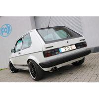 FOX  Sportauspuff  VW Golf 1 GTI - 1x63,5 Typ 10 nach links führend  1.8l 82kW