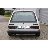 FOX  Sportauspuff  VW Golf 1 GTI - 1x63,5 Typ 10 nach links führend  1.8l 82kW Bild 2