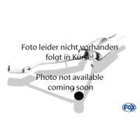 FOX  50mm Vorschalldämpferersatzrohr  Ford Street Ka  1.6l 70kW