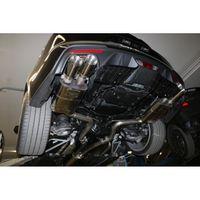 FOX 63,5mm Duplex Sportauspuff Komplettanlage Ford Mustang VI 6 Facelift Coupe & Convertible - 8 -Zylinder 5,0l 331kW - 2x100 Typ 25 rechts/links