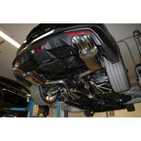 FOX 63,5mm Duplex Sportauspuff Komplettanlage Ford Mustang VI 6 Facelift Coupe & Convertible - 8 -Zylinder 5,0l 331kW - 2x100 Typ 25 rechts/links Bild 3