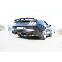 FOX 63,5mm Duplex Sportauspuff Komplettanlage Ford Mustang VI 6 Facelift Coupe & Convertible - 8 -Zylinder 5,0l 331kW - 2x100 Typ 16 rechts/links Bild 5