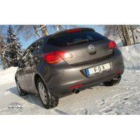 FOX  Duplex Sportauspuff  Opel Astra J Limousine ab Bj. 2009  1.6l 125/132/147kW - 115x85 Typ 32 rechts/links Bild 2