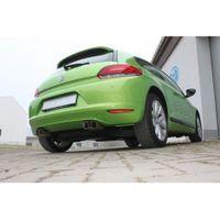 FOX  70mm Duplex Komplettanlage ab Kat.  VW Scirocco 3  1.4l TSI / 2.0l TD - 2x76 Typ 25 rechts/links
